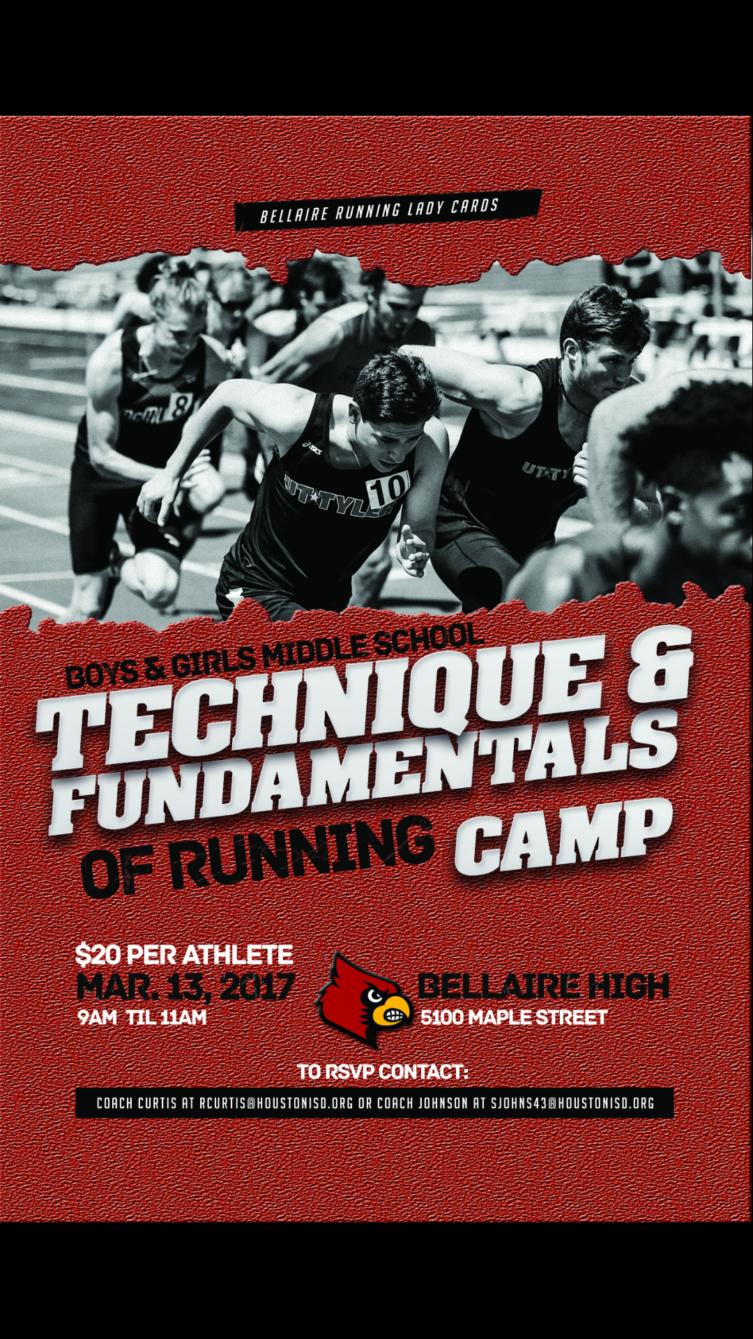 Techniques & Funamdentals of Running Camp