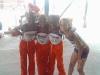 Bantam Girls 4x400 relay team