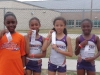 Bantam Girls 4x100 relay