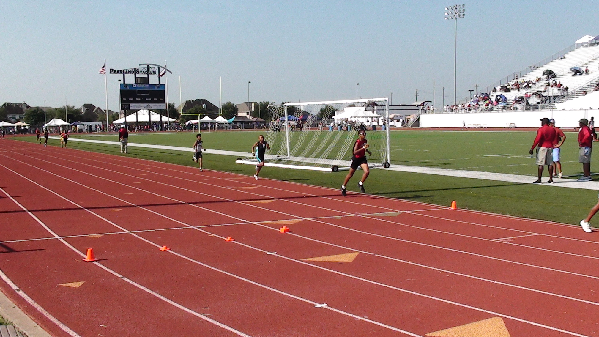 Maaz Syed in the 3000m