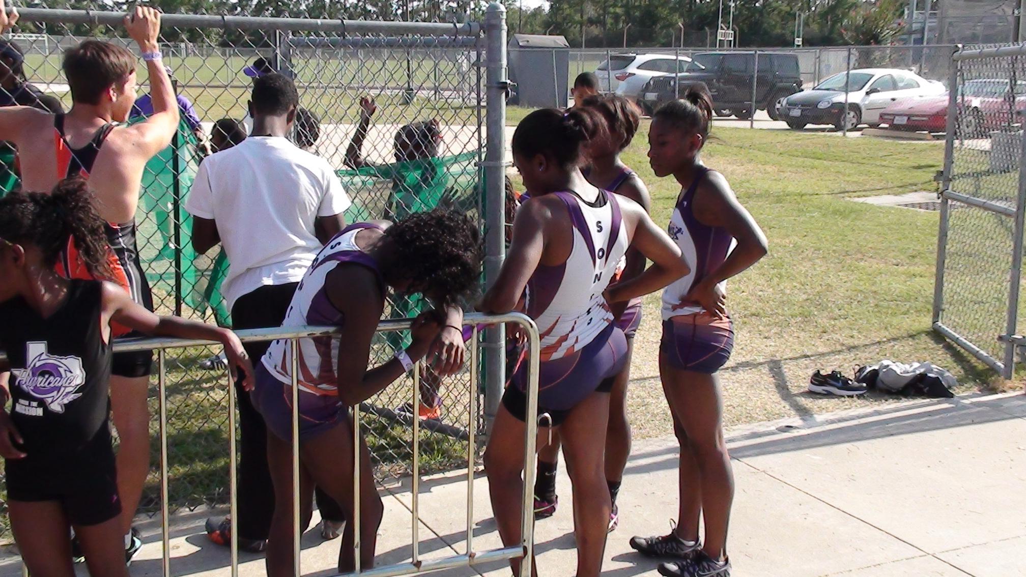 Intermediate girls relay team