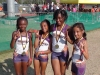 Bantam Girls 4x400 champs