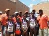 Midget Girls 4x100 relay w/ coaches