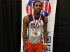 Darwin Allen, medalist in Young Men 800 meter