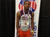 Darwin Allen, medalist in Young Men 800 meter