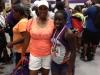 Jai'La Gray, medalist in Sub-Youth Girls 200 meter hurdles
