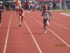 Nyla breaks away in the 100