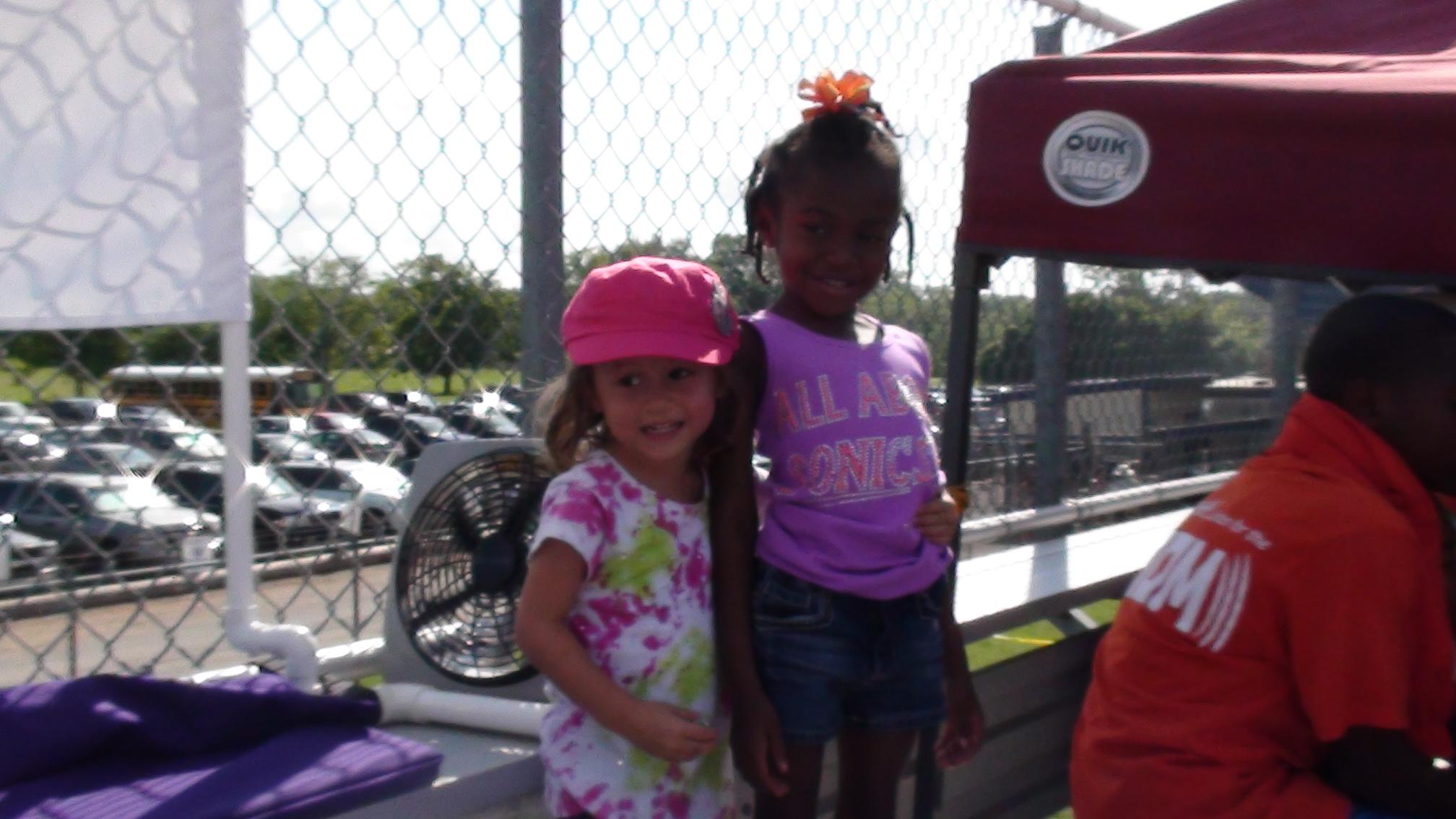 Angela and Kyla