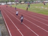 Brandon running the 200m