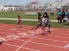 Miracle finishing her 200
