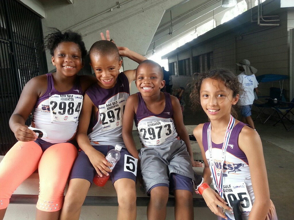 Octavia, Jerome, Jayden, and Michelle