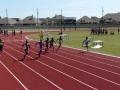 Todd running the 100m