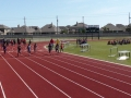 Jonathan running the 100m