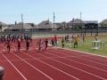 Arik running the 100m