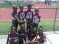 Sonics two primary girls 4x100 teams