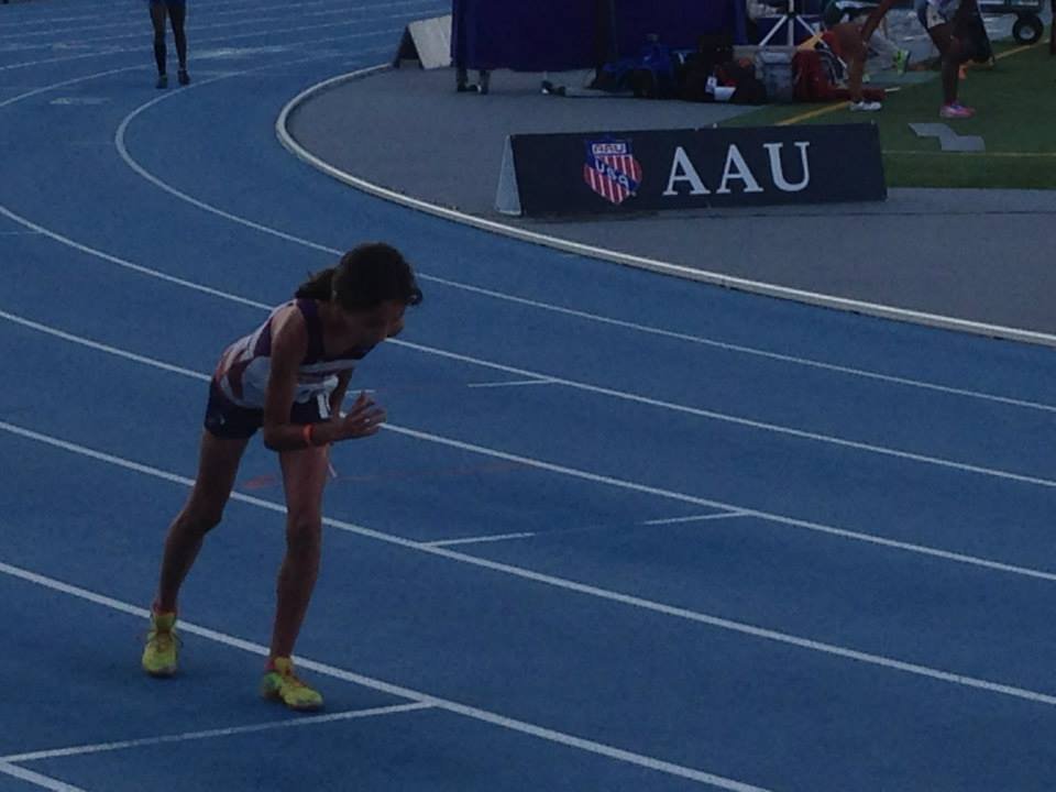 Michelle set to take off in the 400m