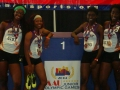 17-18 women 4x400 medalists