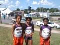 Sonics 800m runners