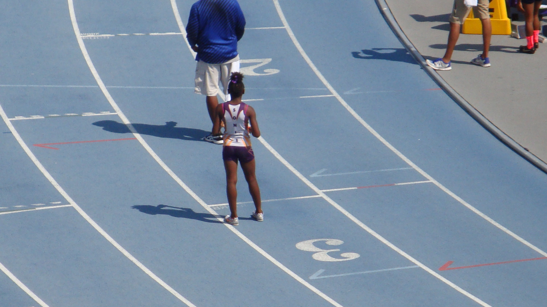 Tyra set for the 4x400 relay