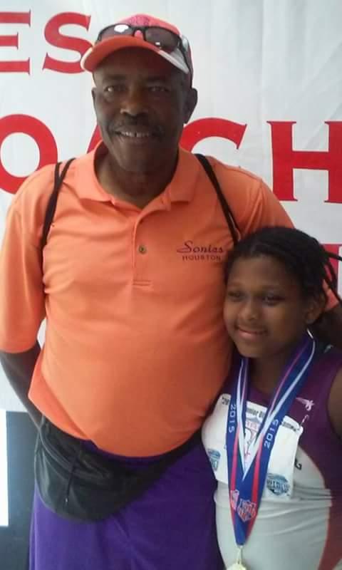 Octavia with Coach Kenneth