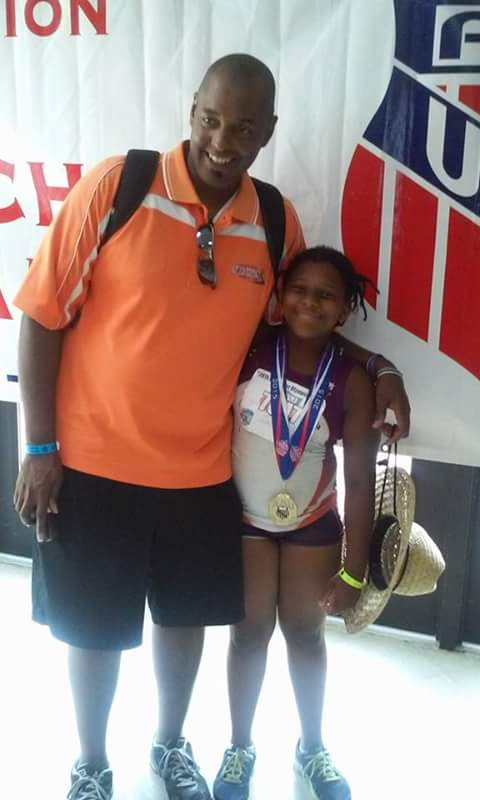 Octavia with Coach Stacy