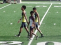 Davon heading out for the 1500m