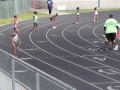 Shayda and Anyssa on the 4x100 relay