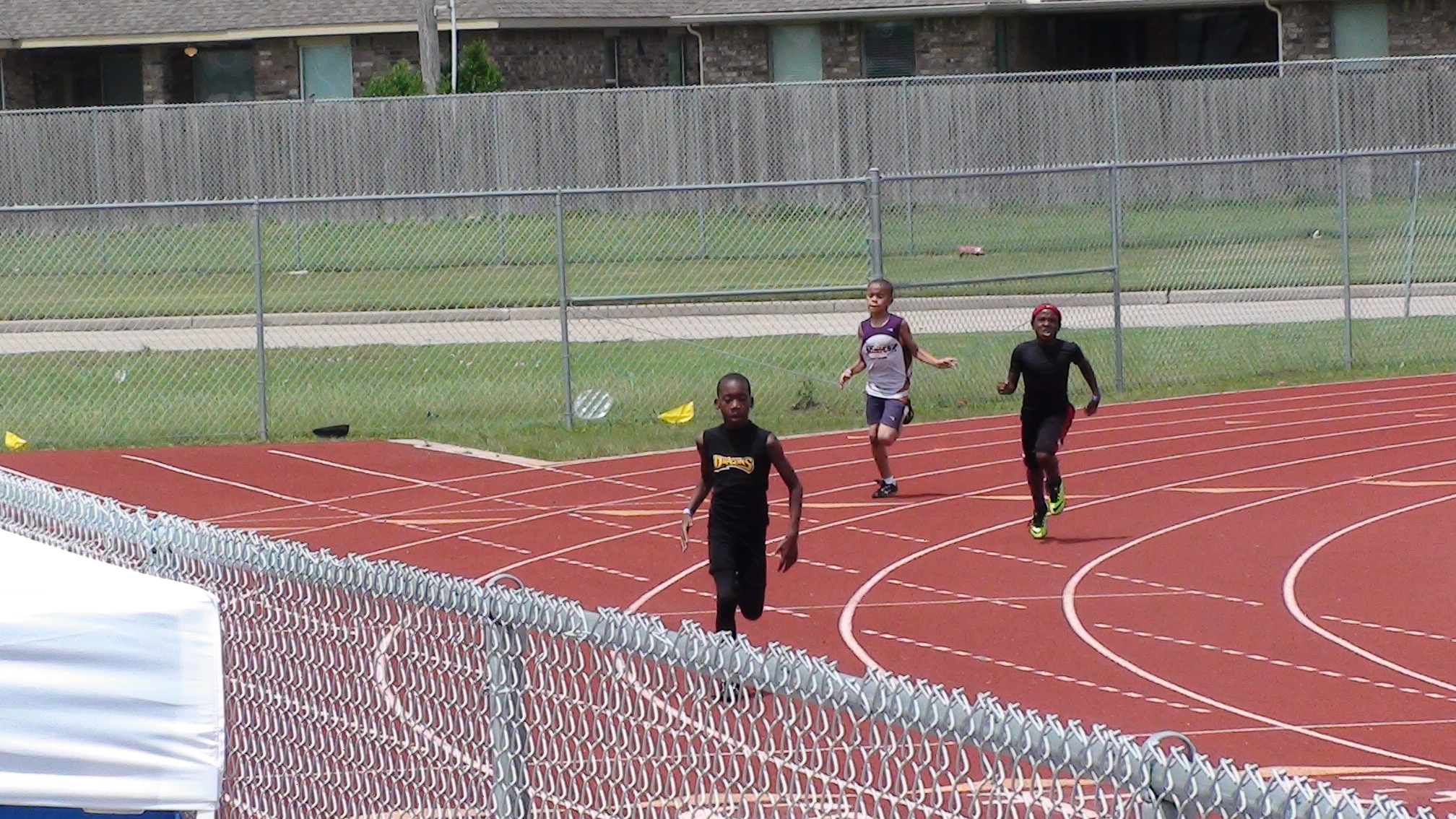 Jerome in the 400m