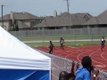 Carson in the 400m