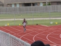 Dakota in the 400m
