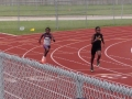 Damario in the 400m