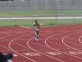 Hanna in the 400m
