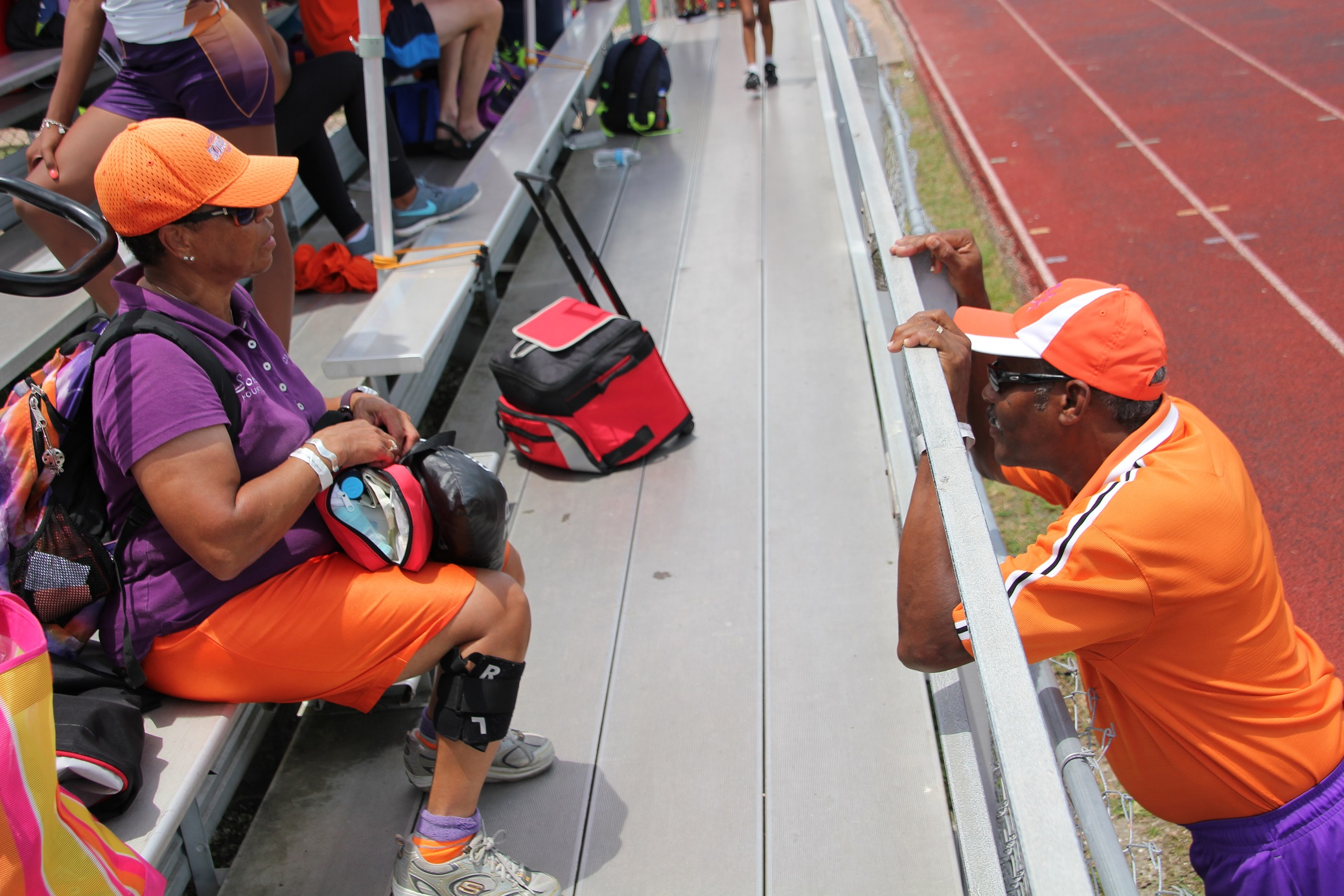 Coaches Camille & Kenneth Jackson