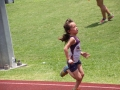 Angela running the 400m