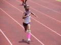 Hanna running the 400m