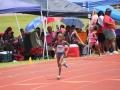 Kylah running the 400m