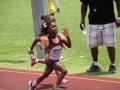 Navaeh running the 400m
