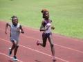 Olivia running the 400m