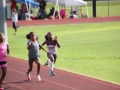 Dakota running the 100m