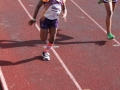 Navaeh running the 100m