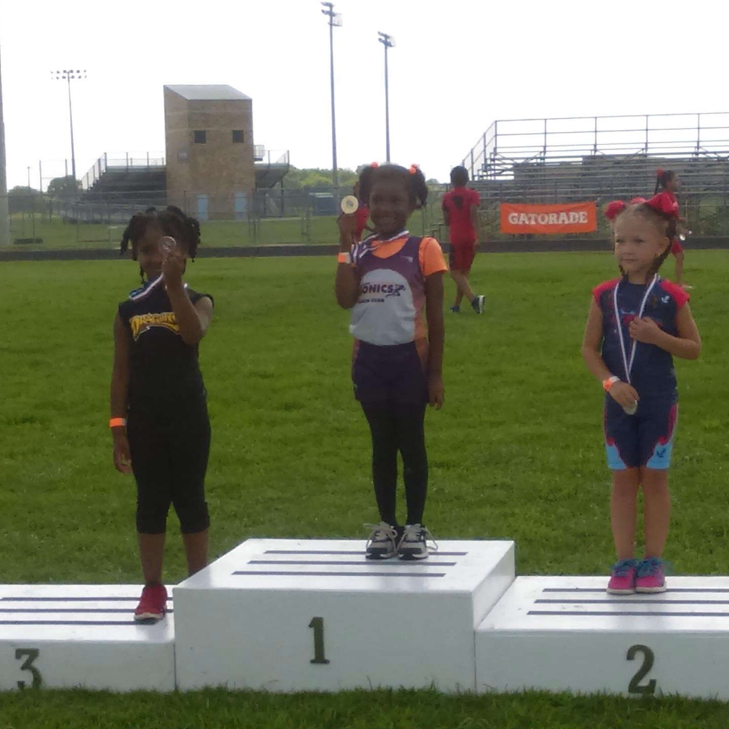 Naveah wins gold