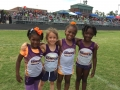 Primary girls 4x100 relay team