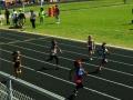 Peyton running the 100