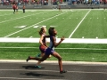 Camden in the 4x100 relay