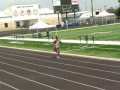 Jonathan in the 4x400 relay