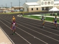 Todd in the 4x400 relay