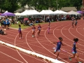 Bantam girls 4x100 B team