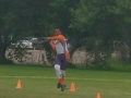 Kenneth throwing the javelin