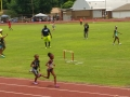 Kylah running the 800