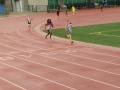 Amelia running the 1500